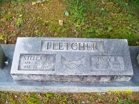 FLETCHER, TONY EDWARD, SR. - Benton County, Arkansas | TONY EDWARD, SR. FLETCHER - Arkansas Gravestone Photos