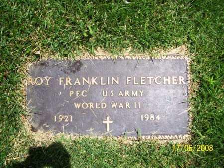 FLETCHER (VETERAN WWII), ROY FRANKLIN - Benton County, Arkansas | ROY FRANKLIN FLETCHER (VETERAN WWII) - Arkansas Gravestone Photos