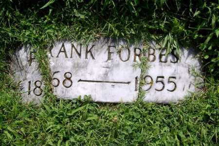 FORBES, FRANK - Benton County, Arkansas   FRANK FORBES - Arkansas Gravestone Photos