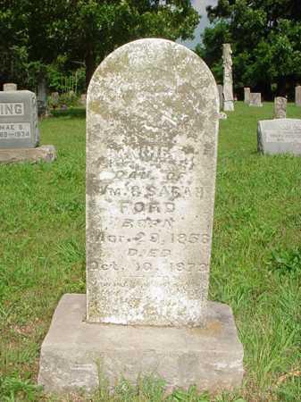 FORD, ANNA F. - Benton County, Arkansas   ANNA F. FORD - Arkansas Gravestone Photos