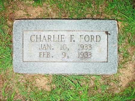 FORD, CHARLIE FAY - Benton County, Arkansas | CHARLIE FAY FORD - Arkansas Gravestone Photos