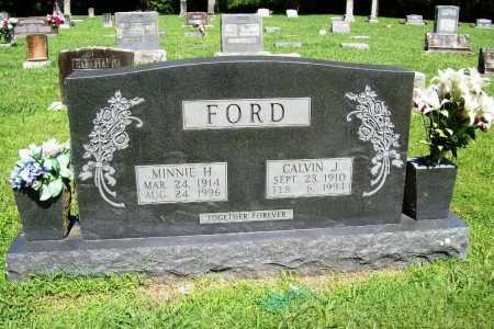 FORD, CALVIN J. - Benton County, Arkansas | CALVIN J. FORD - Arkansas Gravestone Photos