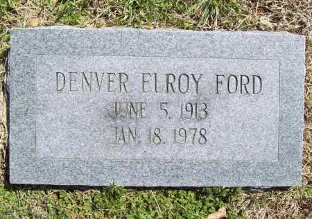 FORD, DENVER ELROY - Benton County, Arkansas | DENVER ELROY FORD - Arkansas Gravestone Photos