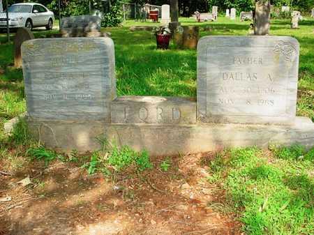 FORD, DALLAS A. - Benton County, Arkansas | DALLAS A. FORD - Arkansas Gravestone Photos