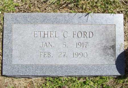 FORD, ETHEL C. - Benton County, Arkansas | ETHEL C. FORD - Arkansas Gravestone Photos