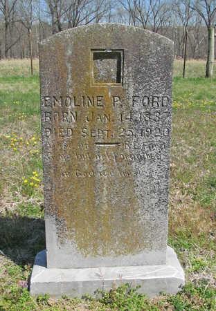 FORD, EMOLINE P - Benton County, Arkansas | EMOLINE P FORD - Arkansas Gravestone Photos