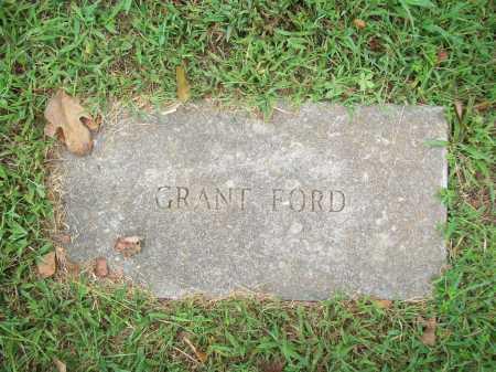 FORD, GRANT - Benton County, Arkansas   GRANT FORD - Arkansas Gravestone Photos