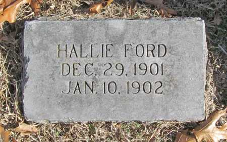 FORD, HALLIE - Benton County, Arkansas | HALLIE FORD - Arkansas Gravestone Photos
