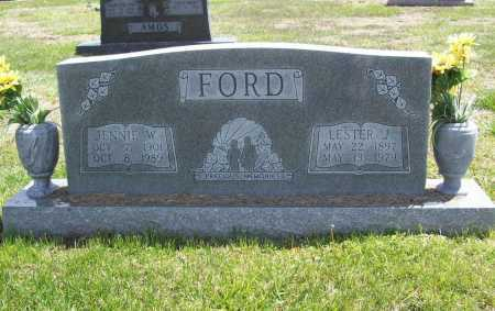 FORD, JENNIE W. - Benton County, Arkansas | JENNIE W. FORD - Arkansas Gravestone Photos