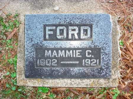 FORD, MAMMIE C. - Benton County, Arkansas   MAMMIE C. FORD - Arkansas Gravestone Photos