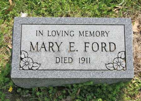 FORD, MARY E. - Benton County, Arkansas | MARY E. FORD - Arkansas Gravestone Photos