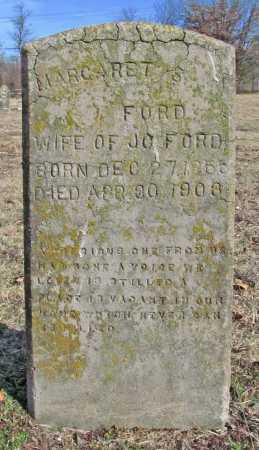 FORD, MARGARET S. - Benton County, Arkansas | MARGARET S. FORD - Arkansas Gravestone Photos