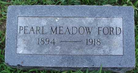 MEADOW FORD, PEARL - Benton County, Arkansas   PEARL MEADOW FORD - Arkansas Gravestone Photos