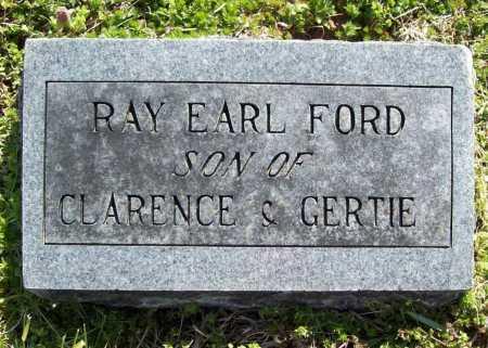 FORD, RAY EARL - Benton County, Arkansas | RAY EARL FORD - Arkansas Gravestone Photos