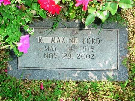 FORD, R. MAXINE - Benton County, Arkansas | R. MAXINE FORD - Arkansas Gravestone Photos