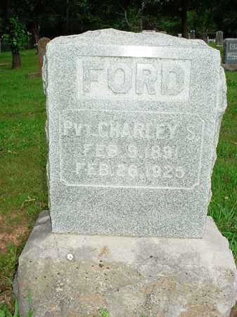 FORD (VETERAN), CHARLEY S. - Benton County, Arkansas   CHARLEY S. FORD (VETERAN) - Arkansas Gravestone Photos