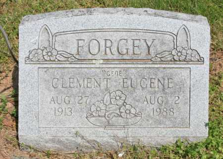 "FORGEY, CLEMENT EUGENE ""GENE"" - Benton County, Arkansas | CLEMENT EUGENE ""GENE"" FORGEY - Arkansas Gravestone Photos"