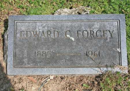FORGEY, EDWARD G. - Benton County, Arkansas   EDWARD G. FORGEY - Arkansas Gravestone Photos