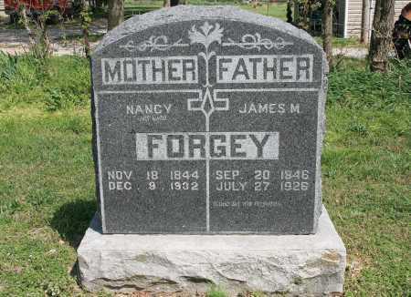FORGEY, JAMES M. - Benton County, Arkansas | JAMES M. FORGEY - Arkansas Gravestone Photos