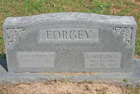 FORGEY, LAWRENCE - Benton County, Arkansas | LAWRENCE FORGEY - Arkansas Gravestone Photos