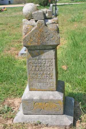 FORGEY, NANCY - Benton County, Arkansas   NANCY FORGEY - Arkansas Gravestone Photos