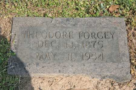 FORGEY, THEODORE - Benton County, Arkansas | THEODORE FORGEY - Arkansas Gravestone Photos