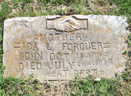 FORQUER, ADA L. - Benton County, Arkansas | ADA L. FORQUER - Arkansas Gravestone Photos