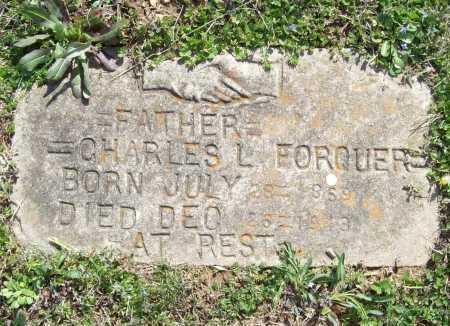 FORQUER, CHARLES L. - Benton County, Arkansas | CHARLES L. FORQUER - Arkansas Gravestone Photos