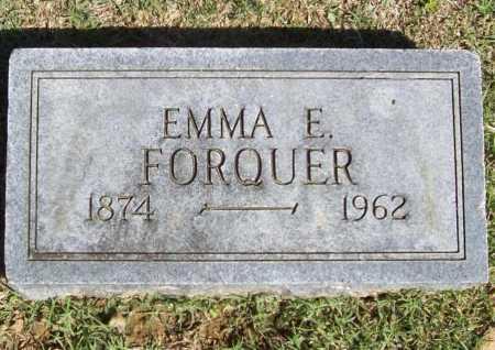 FORQUER, EMMA E. - Benton County, Arkansas | EMMA E. FORQUER - Arkansas Gravestone Photos