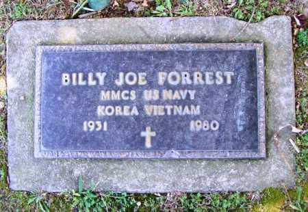 FORREST (VETERAN 2 WARS), BILLY JOE - Benton County, Arkansas | BILLY JOE FORREST (VETERAN 2 WARS) - Arkansas Gravestone Photos