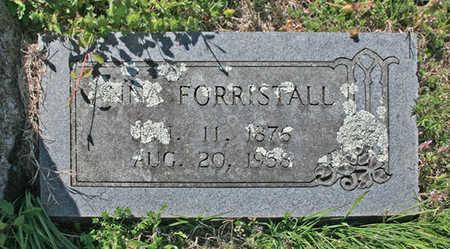 FORRISTALL, ANNA - Benton County, Arkansas | ANNA FORRISTALL - Arkansas Gravestone Photos