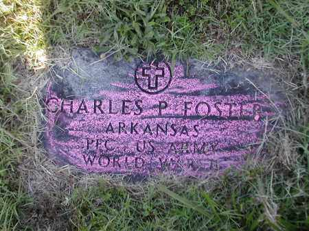 FOSTER (VETERAN WWII), CHARLES P. - Benton County, Arkansas | CHARLES P. FOSTER (VETERAN WWII) - Arkansas Gravestone Photos