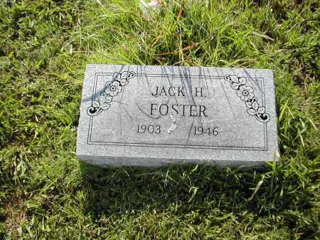 FOSTER, JACK H. - Benton County, Arkansas | JACK H. FOSTER - Arkansas Gravestone Photos