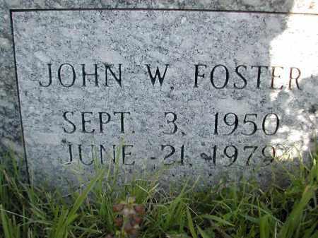 FOSTER, JOHN W. - Benton County, Arkansas | JOHN W. FOSTER - Arkansas Gravestone Photos