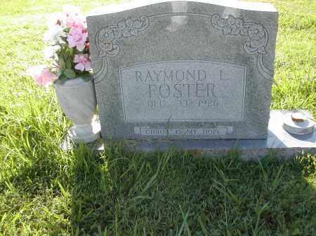 FOSTER, RAYMOND L. - Benton County, Arkansas | RAYMOND L. FOSTER - Arkansas Gravestone Photos