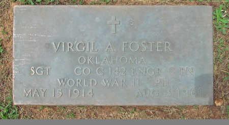 FOSTER (VETERAN WWII), VIRGIL A - Benton County, Arkansas | VIRGIL A FOSTER (VETERAN WWII) - Arkansas Gravestone Photos