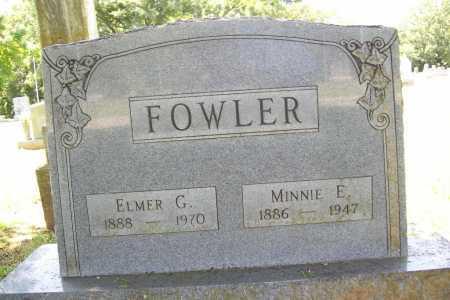 FOWLER, MINNIE E. - Benton County, Arkansas | MINNIE E. FOWLER - Arkansas Gravestone Photos