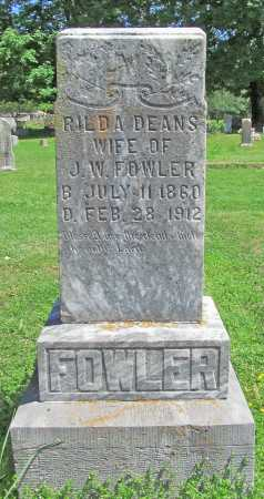 FOWLER, RILDA - Benton County, Arkansas | RILDA FOWLER - Arkansas Gravestone Photos