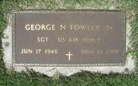 FOWLER (VETERAN), GEORGE N. - Benton County, Arkansas | GEORGE N. FOWLER (VETERAN) - Arkansas Gravestone Photos