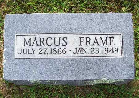 FRAME, MARCUS - Benton County, Arkansas | MARCUS FRAME - Arkansas Gravestone Photos