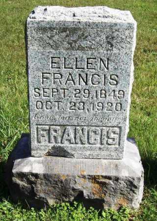 FRANCIS, ELLEN - Benton County, Arkansas | ELLEN FRANCIS - Arkansas Gravestone Photos