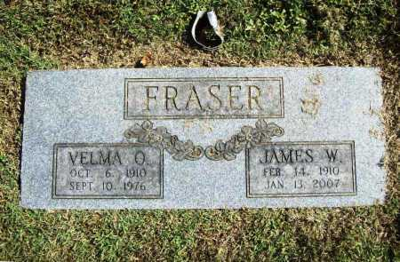 FRASER, VELMA O. - Benton County, Arkansas | VELMA O. FRASER - Arkansas Gravestone Photos