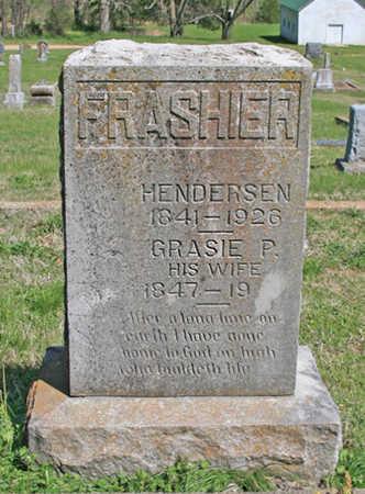 FRASHIER, GRASIE PRISCILLA - Benton County, Arkansas   GRASIE PRISCILLA FRASHIER - Arkansas Gravestone Photos