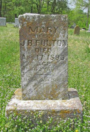 FULTON, MARY - Benton County, Arkansas | MARY FULTON - Arkansas Gravestone Photos