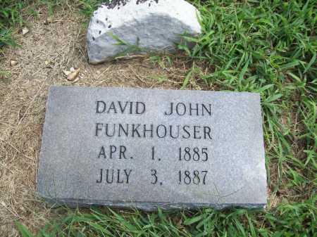 FUNKHOUSER, DAVID JOHN - Benton County, Arkansas | DAVID JOHN FUNKHOUSER - Arkansas Gravestone Photos