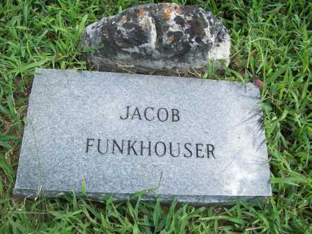 FUNKHOUSER, JACOB - Benton County, Arkansas | JACOB FUNKHOUSER - Arkansas Gravestone Photos