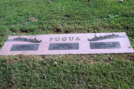 FUQUA, CLARENCE F. - Benton County, Arkansas | CLARENCE F. FUQUA - Arkansas Gravestone Photos