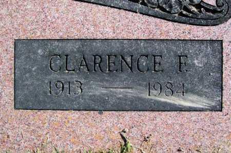 FUQUA, CLARENCE F. (CLOSEUP) - Benton County, Arkansas | CLARENCE F. (CLOSEUP) FUQUA - Arkansas Gravestone Photos