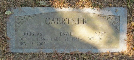GAERTHER, DAUGLAS - Benton County, Arkansas | DAUGLAS GAERTHER - Arkansas Gravestone Photos