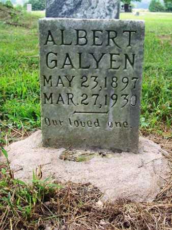 GALYEN, ALBERT - Benton County, Arkansas   ALBERT GALYEN - Arkansas Gravestone Photos